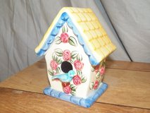Ceramic Birdhouse Candle in Spring, Texas