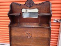 "Antique Solid OAK ""Larkin"" Bookcase/Desk in Cherry Point, North Carolina"