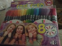 COOL CORD Freindship Party Pack Makes over 100 Bracelets New Sealed in Oswego, Illinois