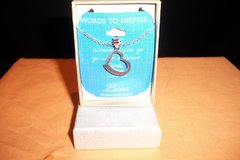 NIB Words To Inspire Love Pendant and Necklace (T=40/6) in Clarksville, Tennessee