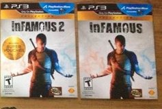 PS3 INFAMOUS AND INFAMOUS 2 in Naperville, Illinois