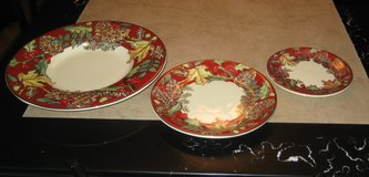 13 Piece F. Gioria Plate Set form Italy / New in Palatine, Illinois