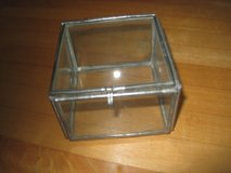 Antique Glass Jewelry Box in Elgin, Illinois