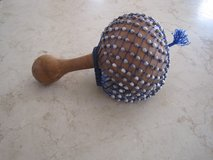 Native American Ceremonial Gourd Rattle in Elgin, Illinois