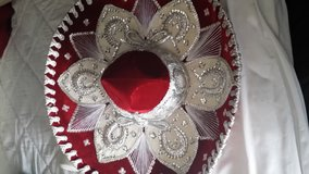 Mexican Sombrero / Hand made from Mexico in Fort Lewis, Washington