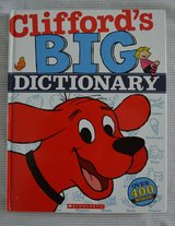 Clifford's BIG Dictionary Over 400 Words! Scholastic Picture Hardcover 2010 in Bolingbrook, Illinois