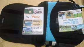 wii bag with wii play and wii sports in Quantico, Virginia