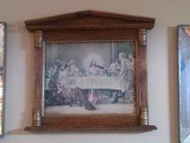 religious painting in wood frame in Camp Pendleton, California