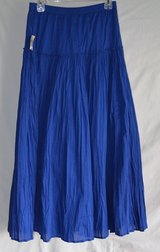 Skirt -Coldwater Creek-Gorgeous Skirt ! Size XS  color Royal Blue in Bolingbrook, Illinois