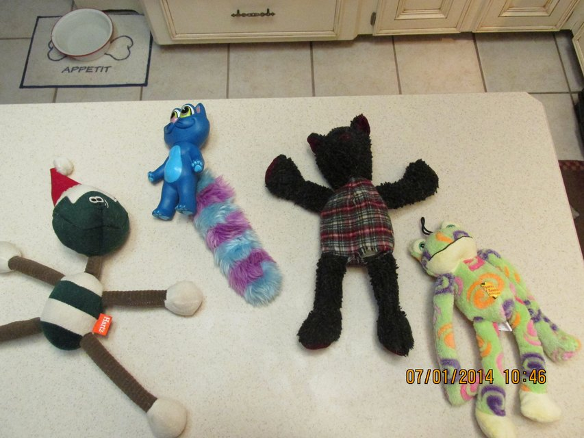 Gently Used Toys : Gently used doggie toys pets supplies for sale on