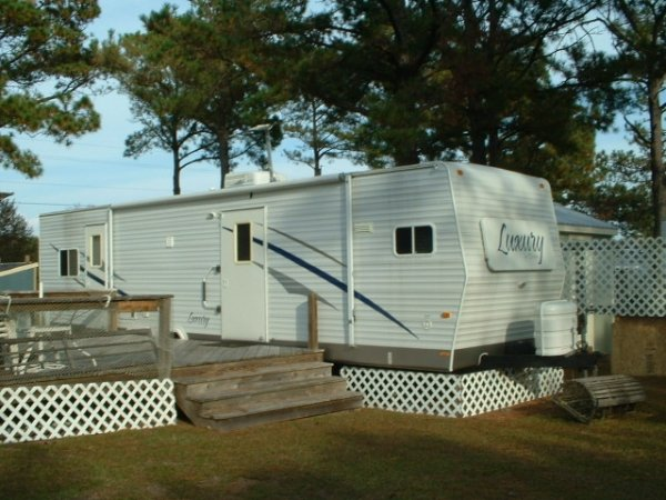 Camp Lejeune Yard Sale >> 2 Camper Lots for Rent at Two Buoys RV Park | Camp Lejeune ...